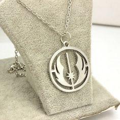 Star Wars The Rise Of Skywalker Jedi Order Symbol Silver Necklace Length 50cm