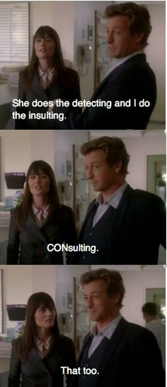 The  mentalist makes me happy