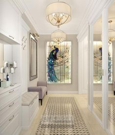 Art Nouveau Hallway Interior