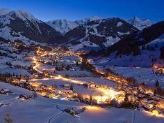 Quer fugir do verão brasileiro? Conheça Gstaad, na Suíça  #Hotel #Viagem