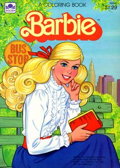 Barbie Coloring Books: RetroReprints - The world's one true coloring book archive! Vintage Barbie, Vintage Dolls, Golden Barbie, Vintage Coloring Books, Barbie Coloring, My Childhood Memories, Barbie World, Barbie Friends, Vintage Children