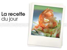 Langoustines et tartare de pomme de terre #food #recette