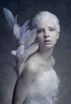Photographer, Makeup, stylist : Agnieszka Jopkiewicz- Angel-like Foto Fantasy, Fantasy Art, High Fashion Photography, Portrait Photography, White Photography, Photography Accessories, Landscape Photography, Fantasy Photography, Photography Ideas
