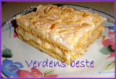 Aliz konyhája - minden recepthez fázisfotók - G-Portál Vanilla Cake, Pie, Minden, Food, Torte, Cake, Fruit Cakes, Essen, Pies