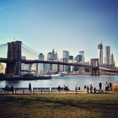 Brooklyn Bridge Park Pebble Beach wedding day for j and d... So excited!