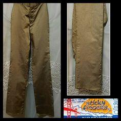 Vintage 1970s 80s Sticky Fingers High Rise Straight Leg Matte Gold Disco Pants, Tight Skinny Jeans, Tall, High Waist, XXS XS Small by DateNiteDigs on Etsy