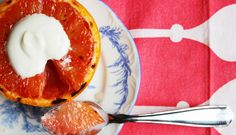 A 70-Calorie dessert you can eat for breakfast? Yes, please! Recipe: Brûléed Grapefruit with Maple Cream | Be Well Philly