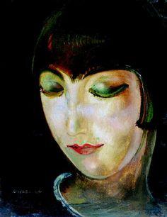 Alice Prin better known as Kiki de Montparnasse, was the archetypical artist's model / bohemian bon vivante of Paris. Man Ray, Alexander Calder, Illustrations, Illustration Art, Kiki De Montparnasse, Maurice Utrillo, Chaim Soutine, A4 Poster, Poster Prints