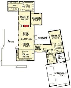 hexagon house plans - viewbeforebuying | creative plan | pinterest