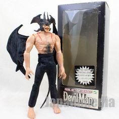 Devilman Comics Ver. Figure Real Action Hero RAH Medicom Toy JAPAN ANIME MANGA #MedicomToy
