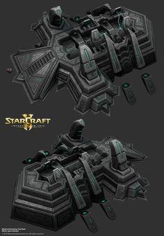 공허 예술 덤프의 스타 크래프트 2 레거시! - 폴리 카운트