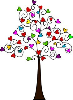 Heart Tree! We should all have one! <3