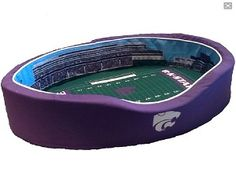 Kansas State Football Stadium Pet Bed ( Large )