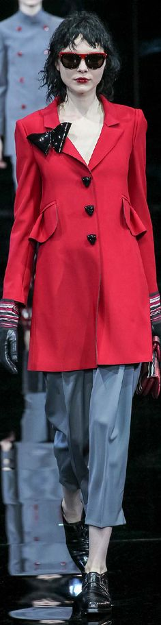 Fall 2015 Ready-to-Wear Emporio Armani