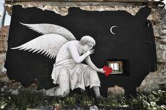 Fikos street art masterpiece