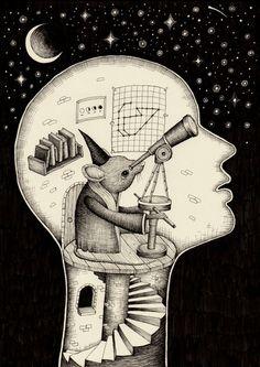 Alex G. Griffiths - 'Observatory'.  ☚