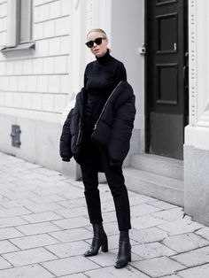 5 All-Black Outfits That Are Anything But Basic