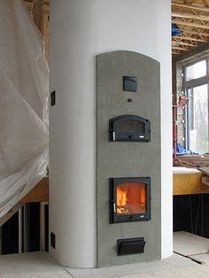 Masonry Fireplace with Oven