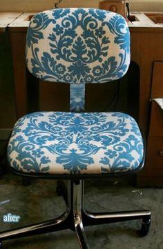 Cute Desk Chair #CWU #OffCampus #Living
