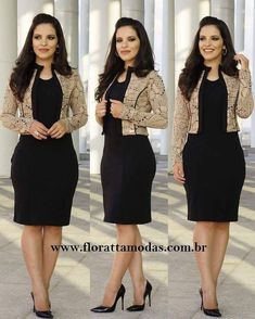 Image may contain: 3 people Women's Fashion Dresses, Dress Outfits, Cute Work Outfits, Grey Midi Dress, Stripped Dress, Ball Gown Dresses, Western Dresses, Elegant Outfit, Work Attire