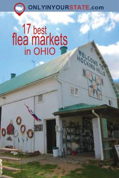 Travel | Ohio | Flea Markets | Vintage | Shopping | Unique Finds | Hidden Treasures