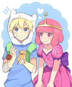 "nimsage: "" fubblegum is still my OTP no matter what "" Cartoon Fan, Cartoon Games, Finn And Princess Bubblegum, Adventure Time Wallpaper, Jake The Dogs, Adventure Time Finn, Fanart, Anime Version, Naruto Characters"