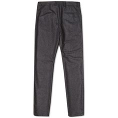 Crafted in an italian wool flannel a p c s basile trouser are cut