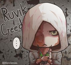 This is what I think about Ruvik all along XD