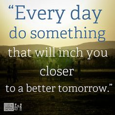 Quotes - Better tomorrow | by Feed My Starving Children (FMSC)