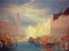 'Venedig', öl auf leinwand von William Turner (1789-1862, United Kingdom)