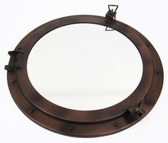 Solid Brass Inside Chrome Plated Nautical Brass Porthole Vintage Decor Aesthetic Appearance