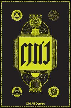 CVLT Art Poster, T Shirt, Ipad case