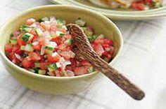 #kraftrecipes Watermelon Spring Salsa