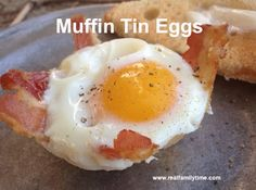New Easy Camping Food Ideas Muffin Tins Ideas Eggs In Muffin Tin, Muffin Tin Recipes, Egg Recipes, Cooking Recipes, Muffin Tins, Cooking Eggs, Fire Cooking, Oven Cooking, Cooking Ideas