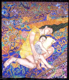 Dreaming by Sonia Bardella, San Michele Al Tagilmento, Italy.  Photo by Quilt Inspiration
