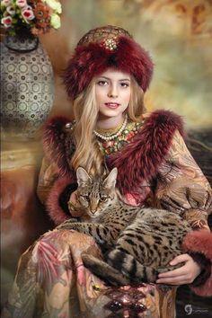 Russian Beauty, Russian Fashion, Fantasy Photography, Interesting Faces, Beautiful Children, Girl Face, Covet Fashion, Traditional Dresses, Cute Girls