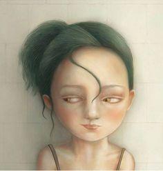 Área Visual - Blog de Arte y Diseño: Peculiars Girls, ilustraciones de Nuri Ann