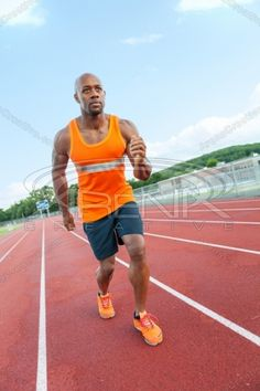 Runner At the Track Stock Photo Royalty Free Images, Royalty Free Stock Photos, Edc Everyday Carry, Edc Gear, Excercise, Fitness Motivation, Track, Running, Pocket