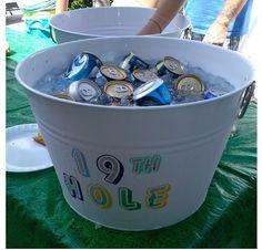19th Hole. Golf Themed Birthday