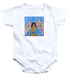 Guardian Angel Onesie by Mary Mirabal