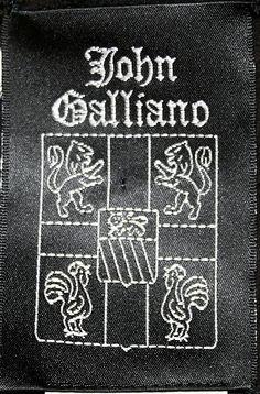 1994-95 John Galliano label, Metropolitan Museum of Art, NY