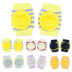 New Kids Safety Crawling Elbow Cushion leggings Infants Toddlers Baby Knee Pads Protector cotton Leg Warmers Kneecap  6 Colors