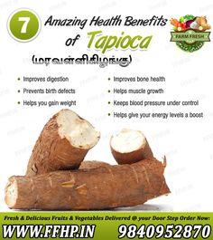 Amazing Health Benefits of Tapioca!