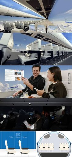 Virgin Airlines want to build windowless planes