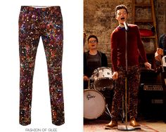 Kurt's awesome marble-patterned trousers by Paul Smith. The best part of that episode by far!
