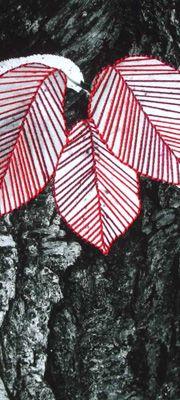 Mafalda Silva | Restaurante Julia | Tangled Memories | Fibre Art | International | Canadian | Textile Art | World of Threads Festival | Contemporary Fiber Art Craft Textiles | Oakville Ontario Canada ****