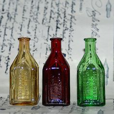 beautiful miniature bottle...  from an estate by CoolVintage, $11.50