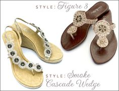 fibi & clo sandals - chic jeweled designs for weddings + summer fun