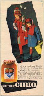"""FLASH 1964 di GENERAZIONI e """"PICK-UP"""": pubblicità - CIRIO (confetture)"""