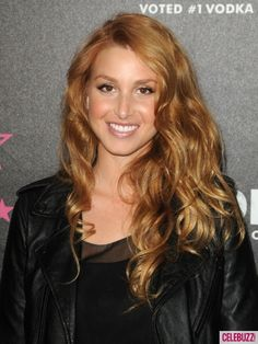 Whitney Port strawberry blonde i want this color
